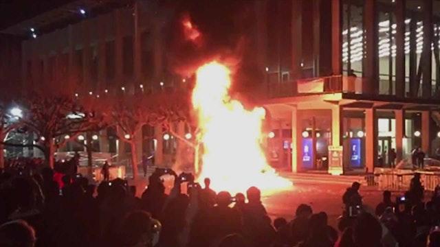 UC Berkeley Burns to Ground Over Free...
