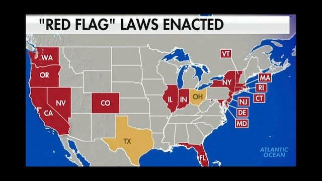 RED FLAG GUN LAWS!! CONCENTRATION DEA...