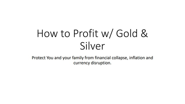Download Gold & Silver PDF