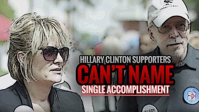Hillary Clinton Supporters Can't Name...