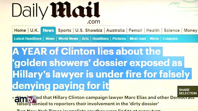 CLINTON CAMPAIGN FUNDED 'FAKE NEWS' T...