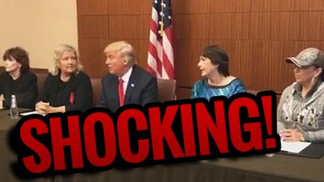 Trump Shocks Media with Bill Clinton'...