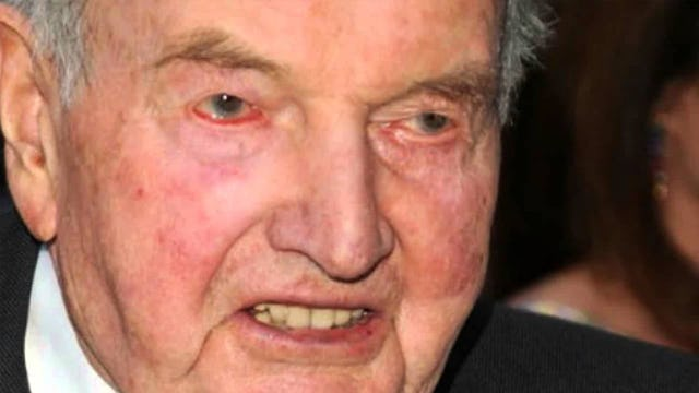 CRONY CAPITALIST AND BAILOUT KING DAVID ROCKEFELLER DIES A LONELY MAN, MORALLY BANKRUPT