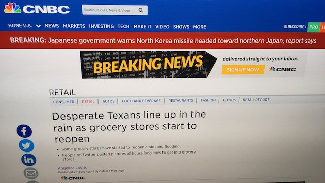 Breaking- Japan Warns N.Korean Missil...