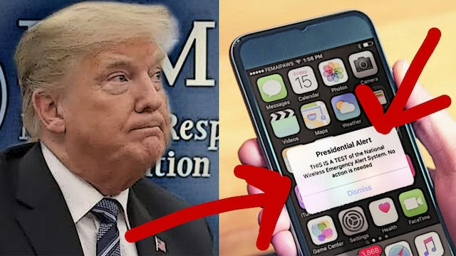 Why Isn't Anyone Talking About This? FEMA TO HOLD PRESIDENTIAL EMERGENCY ALERT T
