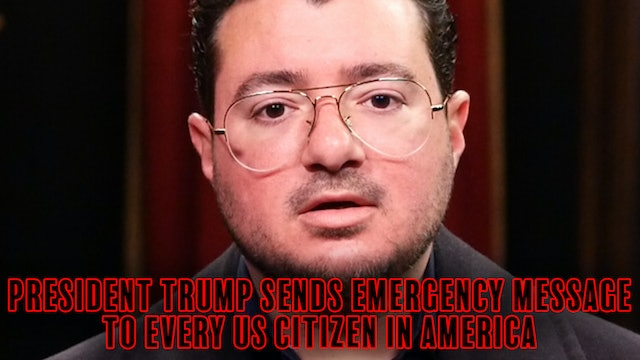PRESIDENT TRUMP SENDS EMERGENCY MESSAGE TO EVERY US CITIZEN IN AMERICA