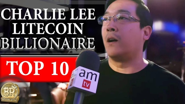 CHARLIE LEE INTERVIEW: FOUNDER OF LITECOIN, SOUND MONEY..STOCK MARKET CRASH...