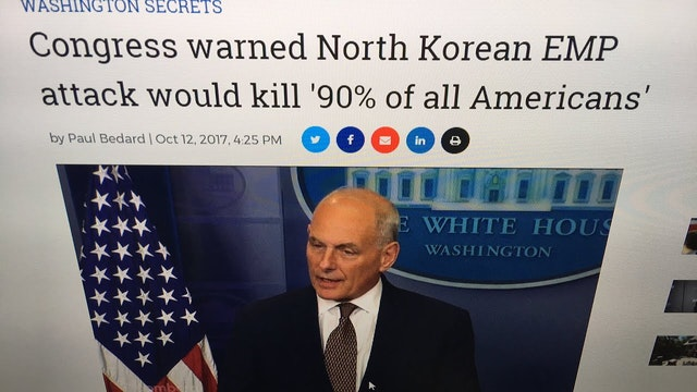 Congress Warns N.KOREA EMP to Wipe Ou...