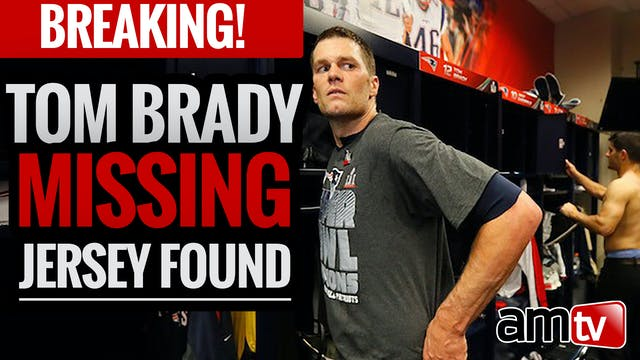 BREAKING! Tom Brady Missing Jersey Found