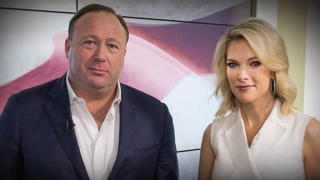 Alex Jones Denies Sandy Hook w/ Megyn...