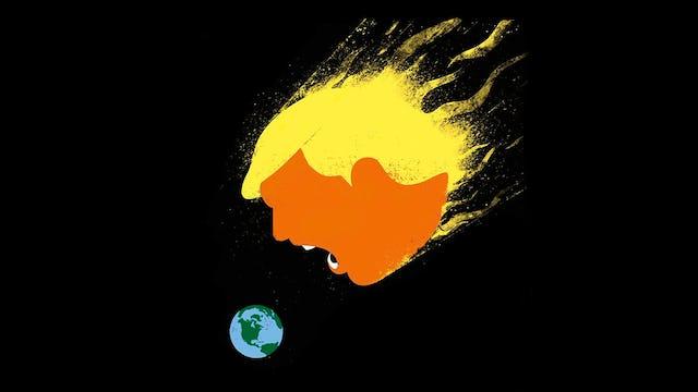 TRUMP EATS GLOBALIST BASTARDS