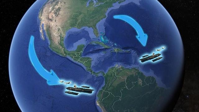 RED ALERT!! U.S. WARSHIPS ON THE HUNT IN LATIN AMERICA!!