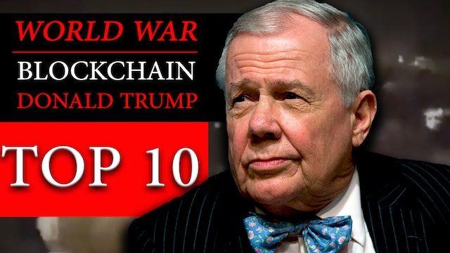 JIM ROGERS INTERVIEW WARNS OF WORLD WAR, BLOCKCHAIN & STOCK MARKET CRASH