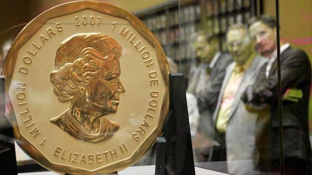 4.5 MILLION DOLLARS OF GOLD STOLEN!