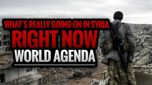 WHAT'S REALLY GOING ON IN SYRIA RIGHT...