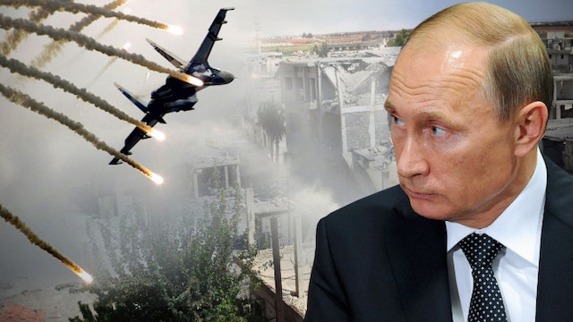 RUSSIA PREPARES FOR BOMBING ISIS