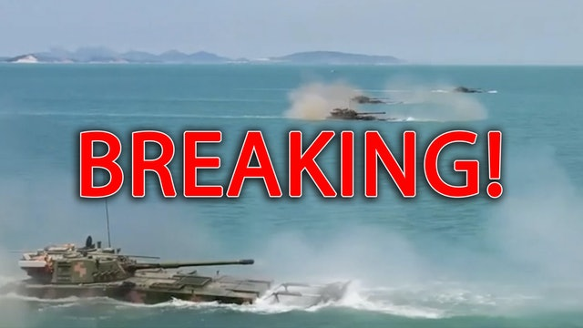 BREAKING NEWS! CHINA MOVES IN TAIWAN..