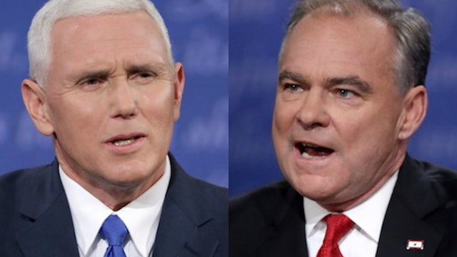 VP Debate: Tim Kaine is a Sniveling W...
