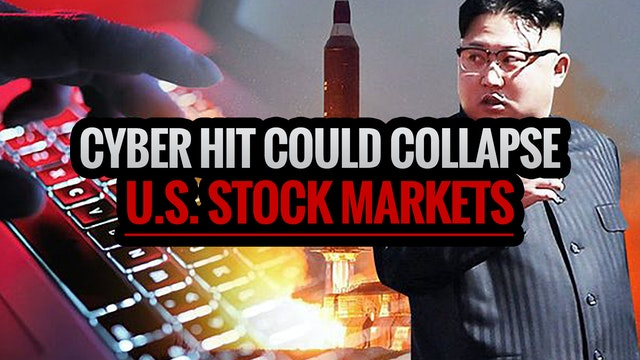 CYBER HIT COULD COLLAPSE U.S. STOCK M...