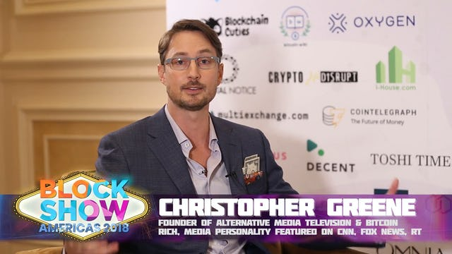 Christopher Greene on Making Bitcoin Mainstream, Digital Gold and Best Coin Pred