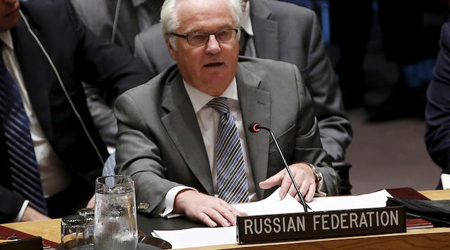 Russian Ambassador Vitaly Churkin Dead of Alleged Heart Attack