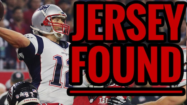 BREAKING! TOM BRADY SUPERBOWL JERSEY ...