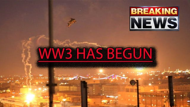 WORLD WAR 3 HAS BEGUN!! IRAN IS THE F...