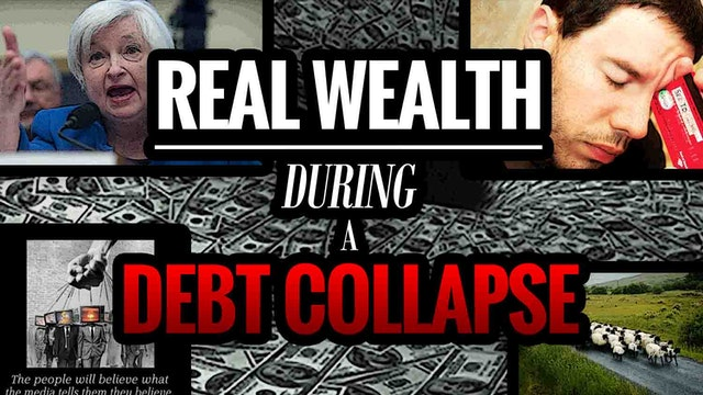 Real Wealth during a Debt Collapse