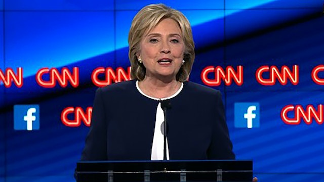 Why Hillary Clinton Won the Dem debate
