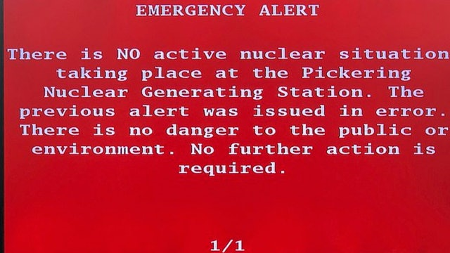NUCLEAR WARNING ALERT!! EMERGENCY MESSAGE SENT TO MILLIONS OF CITIZENS!