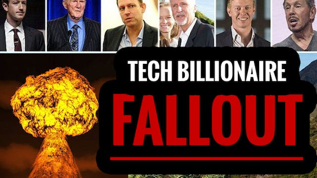 Tech Billionaires PREPARE for Armaged...
