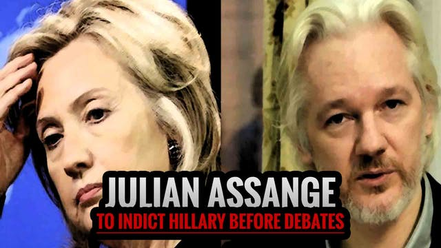 Julian Assange to Indict Hillary Befo...