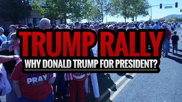 TRUMP RALLY: Why Donald Trump for Pre...
