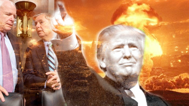TRUMP'S RECIPE FOR WORLD WAR 3