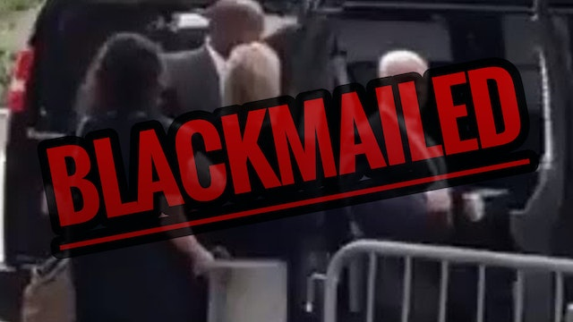 Hillary BLACKMAILED, Fainting Staged ...