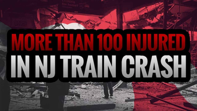 MORE THAN 100 INJURED IN NJ TRAIN CRASH
