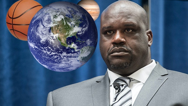 SHAQ: 'THE EARTH IS FLAT!' HOW DARE H...