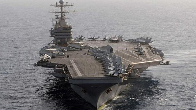 USS ABRAHAM LINCOLN DEPLOYED!! STRIKE CARRIER READY!