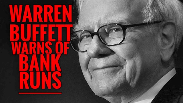 Warren Buffett Warns of Bank Runs 2016