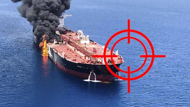BREAKING!! TORPEDOS IN GULF OF OMAN!!...