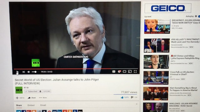 Julian Assange Proof of Life and FULL...