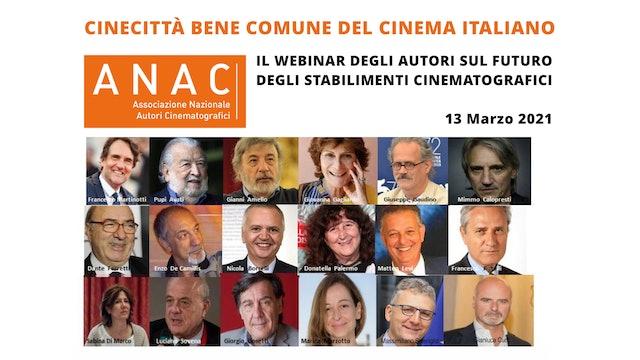 CINECITTÀ BENE COMUNE DEL CINEMA ITALIANO