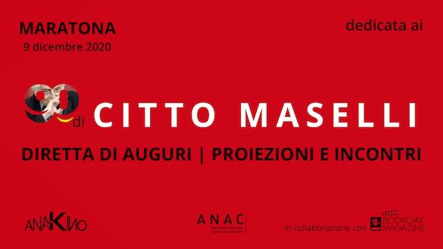 DIRETTA Citto Maselli - Diretta 9 Dic 2020