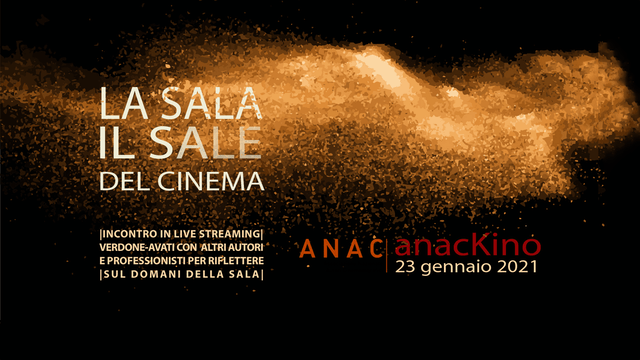 LA SALA IL SALE DEL CINEMA| ANACKINO 2021