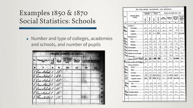 Social Statistics Schedules