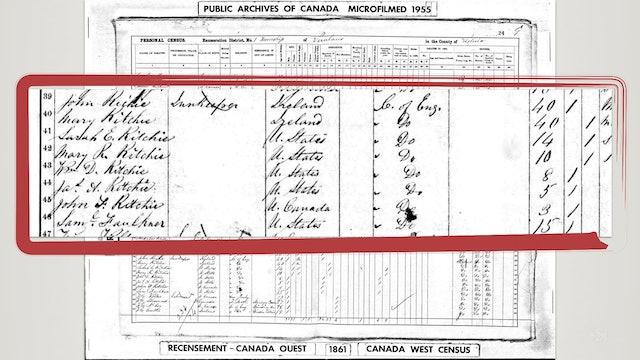 1861 Canadian Census