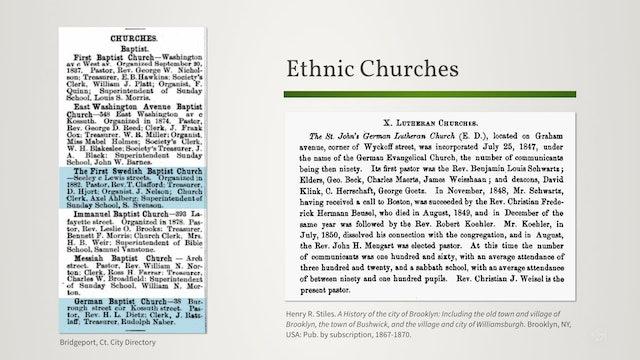 Religious Records