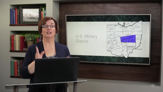 Ohio's Land Surveys: Federal Lands
