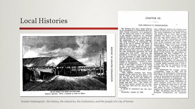 Local Histories