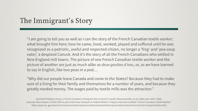 Tracing U.S. Immigrants to Their Native Parishes in French Canada